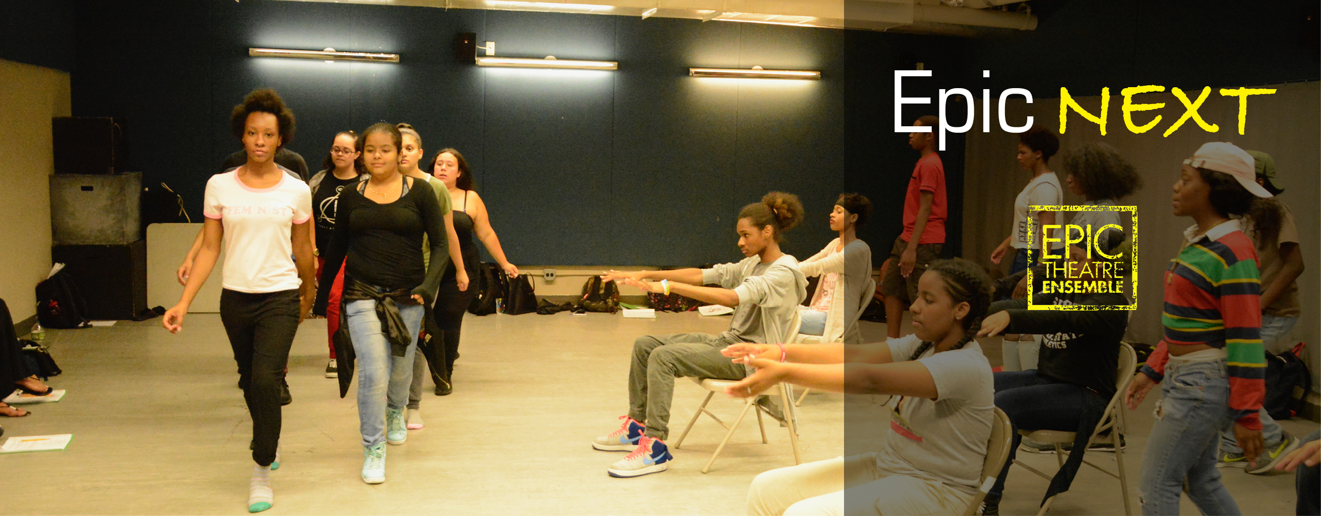 <p>In 2012, with the support of The Pierre and Tana Matisse Foundation, we began our most ambitious youth development program: Epic NEXT; Developing Young Thinkers, Actors &amp; Leaders. Through specifically-personalized pairings between artist-mentors and developing young artists, Epic NEXT utilizes a comprehensive, individualized approach to artistic and youth development. The Epic [&hellip;]</p>